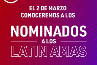 Los nominados para los «Latin American Music Awards» 2021